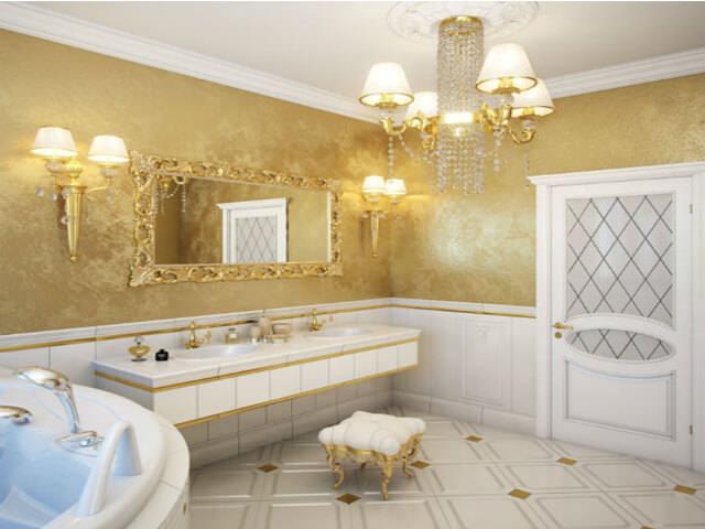 Декоративная штукатурка для ванной комнаты