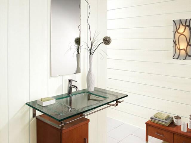 Стенновые панели в ванной комнате