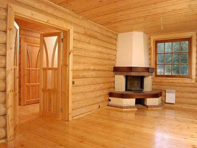 Обеспечение герметичности стен из деревянных бревен