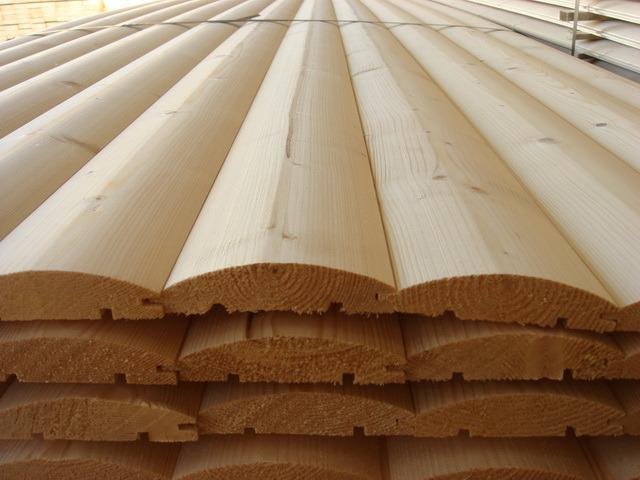 древесина для блок хауса