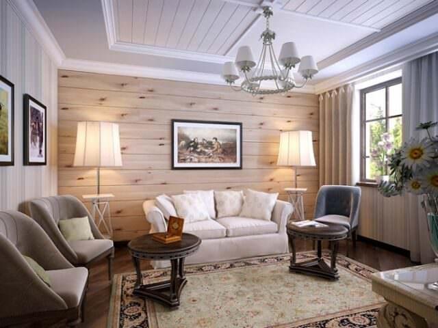 Деревянные стеновые панели - экологически чистые материалы