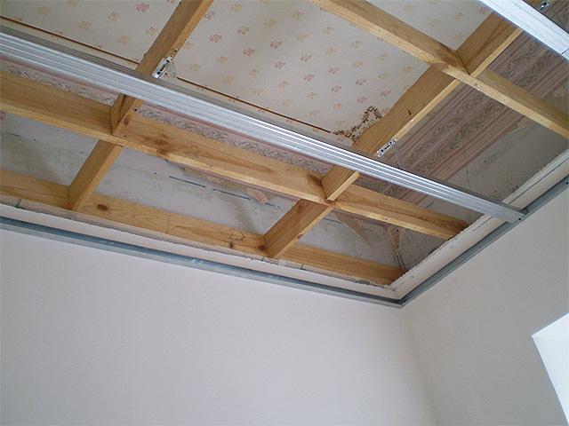 Как сделать обрешетку на потолке 105