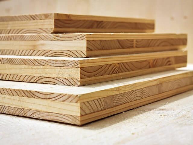 Клееные (многослойные) деревянные панели