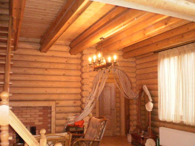Отделочные работы деревянного дома