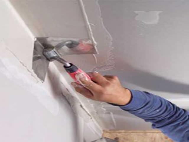 Как выровнять угол стены своими руками с помощью уголка 535