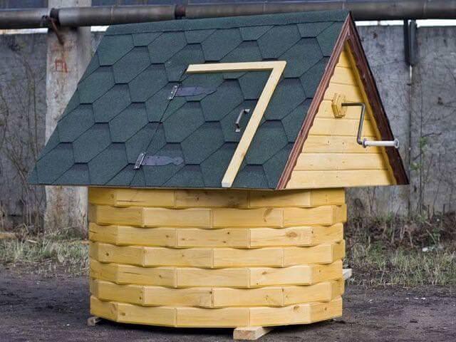 Как обделать скважину на даче своими руками фото 24