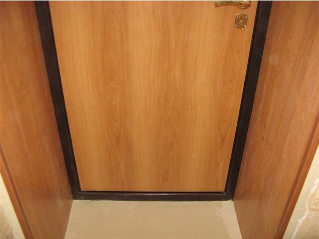 Отделка откосов входной двери панелями пвх своими руками видео