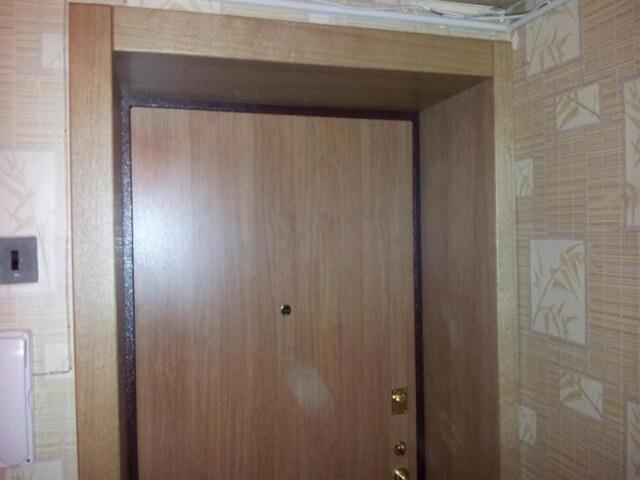 Отделка межкомнатных дверей ламинатом своими руками 16