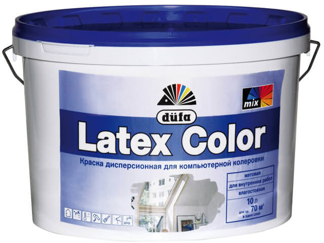 латексные краски для покраски стен