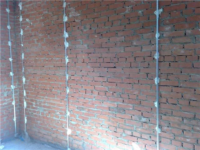 Установка маяков на стене видео