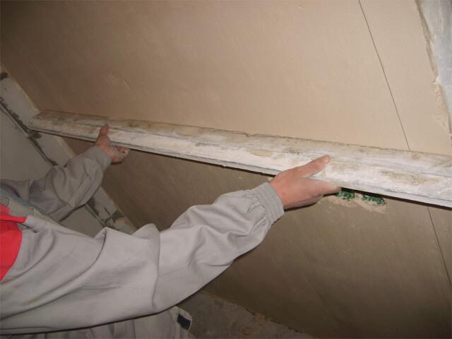 ремонт своими руками сначала потолок