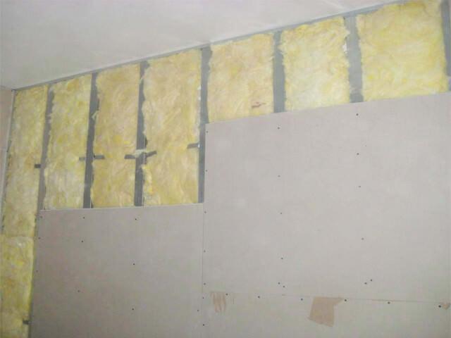 выравнивание стен гипсокартонам