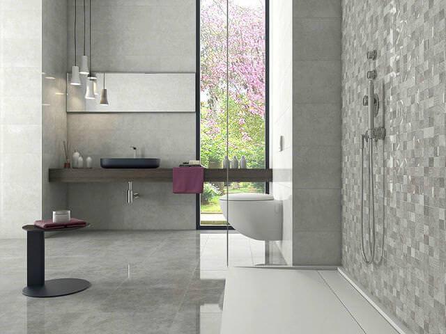 ванная комната из плитки