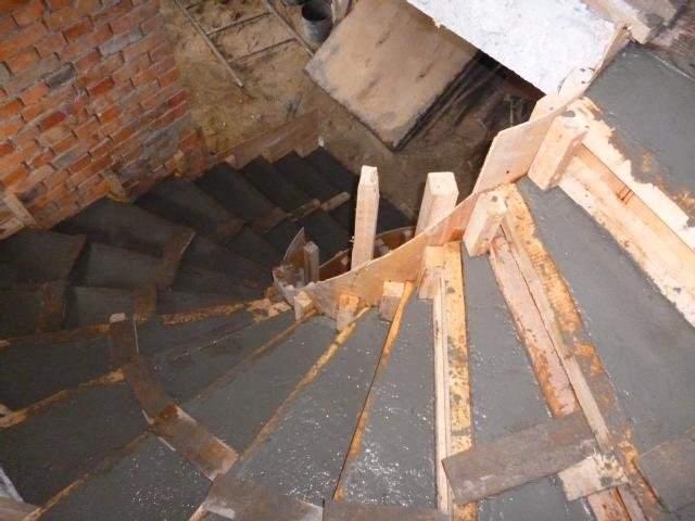 Как сделать винтовую лестницу из бетона - Olimp-tut.ru