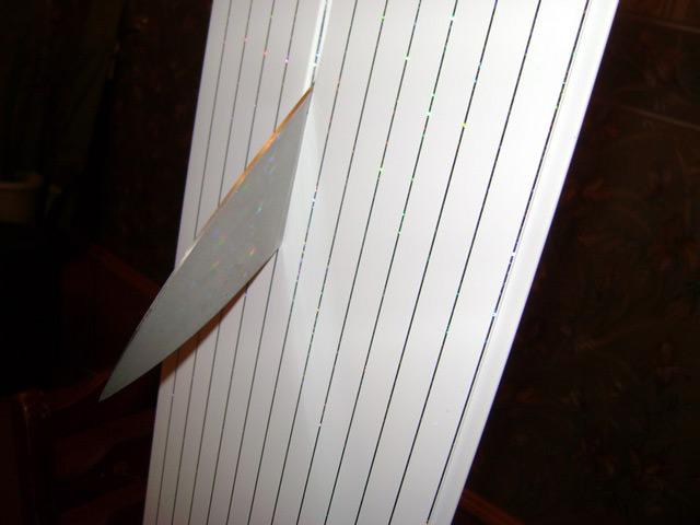 Как правильно разрезать панель