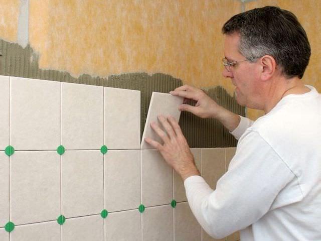 оформление ванной комнаты плиткой