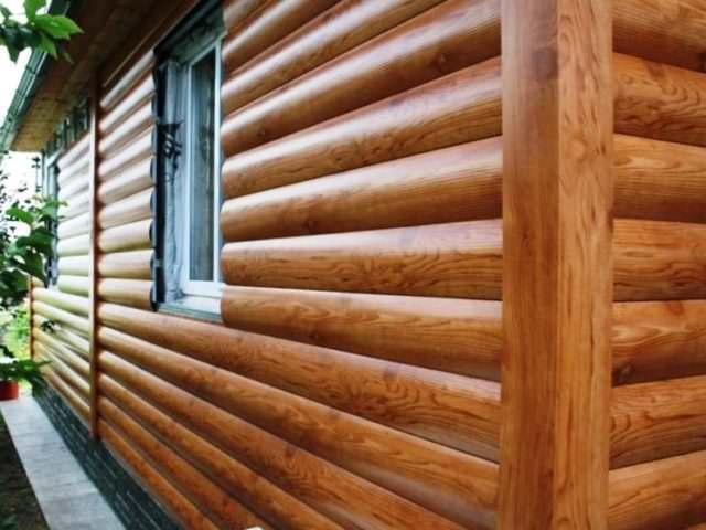Натуральная древесина блок-хаусом
