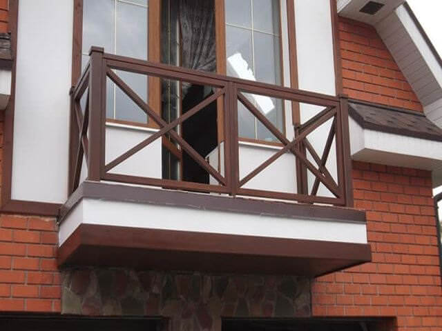 Балконные ограждения виды материалов фото и видео.