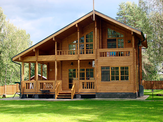 Деревянное строение