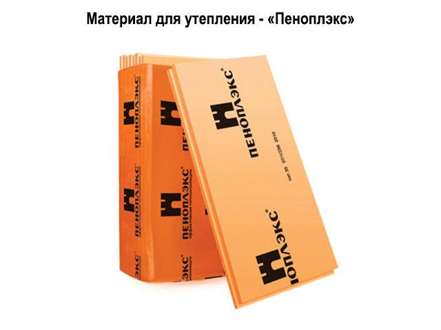 Материал Пеноплэкс