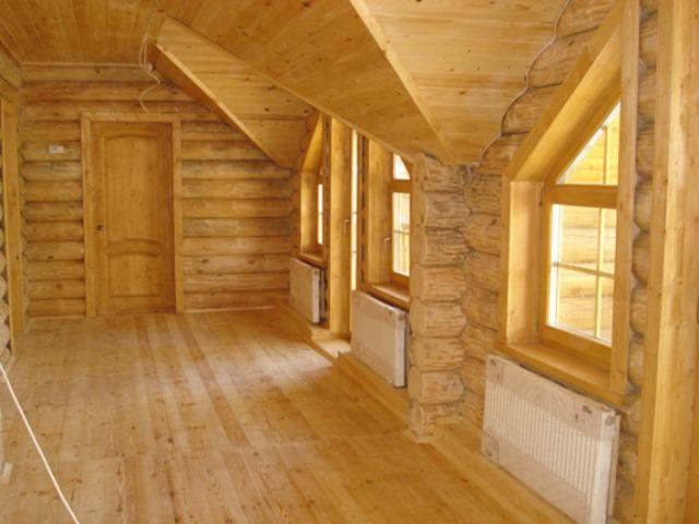 Деревянное жилище