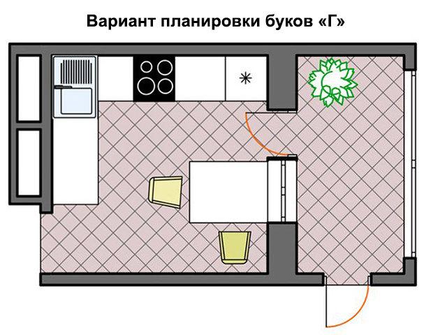 Помещение с балконом