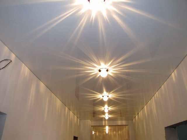 Точечные элементы освещения