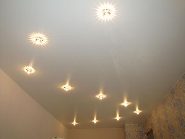 Освещение без люстры