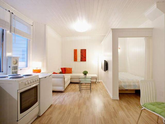 Светлые тона для маленьких комнат