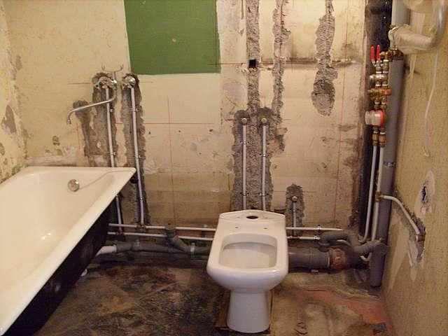 Разводка канализационных труб в ванной и туалете своими руками 155