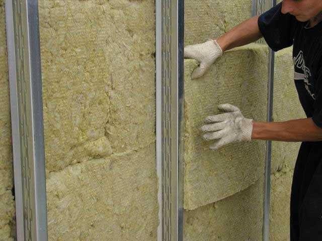 Теплоизоляция внутренних стен